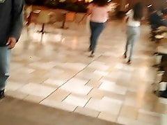 CandidTeensAss at Mall