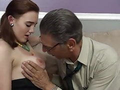 young girl first time fucked on camera by old man