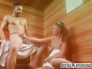 Blowjobs Cumshots movie: DigitalPlayground - Daniel Hunter Whitney Westgate - Sweat
