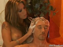 Massage Blonde MILF Turque