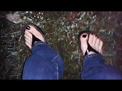 i miei piedi sexy bagnati