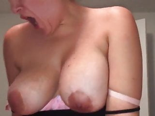 Tits Pov Brunette video: Quick CUM on Dick (POV)