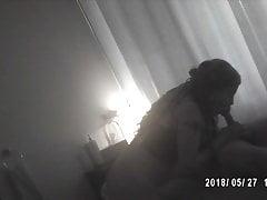 Ebony Pompino in sala massaggi