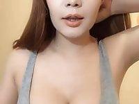 Lovely thai girl dance