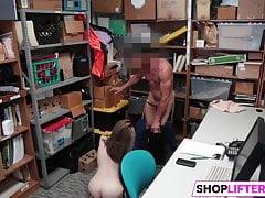 Banging Foxy Cutie Shoplifter Alina