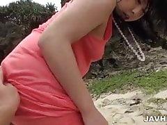 Phat bottino Megumi Haruka viene scopata a pecorina
