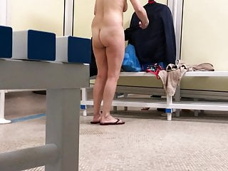 French Voyeur Big Ass video: back to the swimming pool