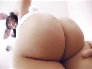 Incredible and huge oriental ass