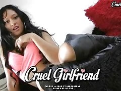 CruelGirlfriend.com - Cock-caged & Dumped