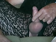 Sissy Wanking In Lacy Pantyhose