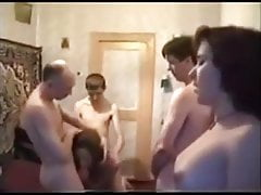 Russische Amateur Sex Party