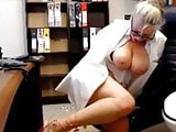 Office Milf Toys At Work