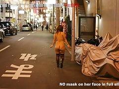 Allgemeines blinkendes Dia show3 des japanischen molligen Mädchens
