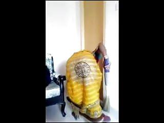 Bangladeshi maid bending