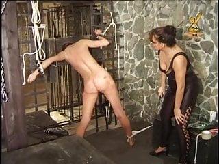 Femdom Slave Whipping video: Lezdom Mistress - Dungeon Torture