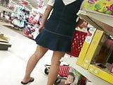 Thick pregnant asian uppie (boy shorts under)
