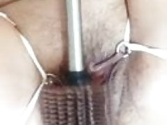 Toilete Brush na buceta