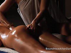 Niewolnicy pożądania: masaż z uległymi dziewczynami