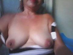 philippin mature de 59 ans baise pour moi sur cam