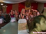 CFNM amateurs sucking strippers cock at party