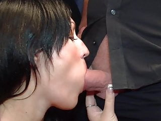 Bukkake Milf Tattoo video: Elina Flowers: Give me your cum!