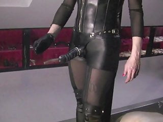 Bdsm Strapon Femdom video: Mistress No.1 Slave is fucked, teased and humiliated