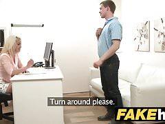 Stallone agente femmina Cocky vuole figa stretta bionda procace bagnato