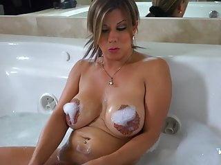 Naomi Chi Bikini Bath