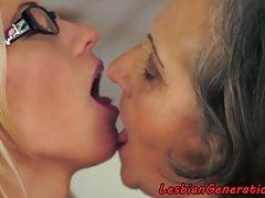 Europäische Oma Felgen spex lesbischen Teenager