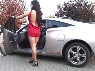 Babes Big Cock Big Tits video: Hot babe getting her ass pounded