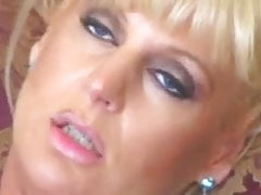 Tall and Elegant Blonde Milf in Anal sex