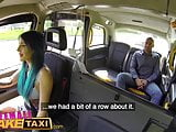 Female Fake Taxi Busty tattooed drivers ass fucked by Austra