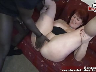 Amateur Milf Mature vid: German ugly housewife porn casting first time - lonley wife