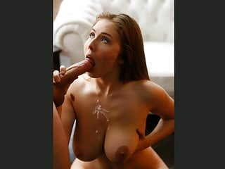 Small Tits Big Tits Mature video: Cum On My Face II