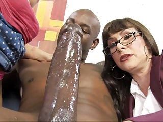 Milfs Interracial Big Cock video: Casey Cumz Watches Her Mom Gets Creampied By A BBC