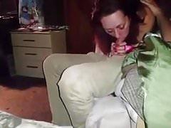 Sie saugt Freund vor Ehemann