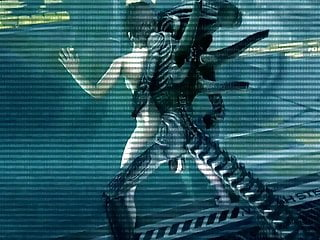 Cartoon Hd Videos video: XENOMORPH ANAL