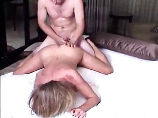 Delicious Cougar MILF Seduces Young Boy On Business Trip