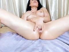 Hot girl ... orgasme chaud au show web 7