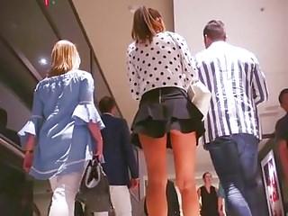 Upskirts Voyeur Strapon video: Best Milf Upskirt Ever