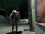 Nude walk on road india