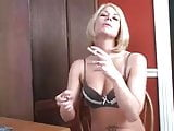 Trisha Annabelle tell how she love having sex smoking