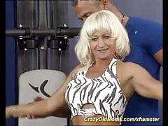 muscle mom fucking
