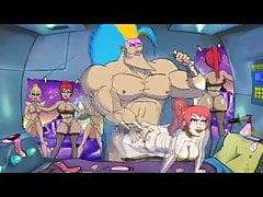 Starbarian Killgar se setká s Thickhildou (parodie)