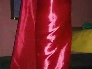Satin Silk Saree video: Satin Silk Saree Bishu Crossy 1