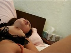Licking Japanese babe Miko's sweet pussy