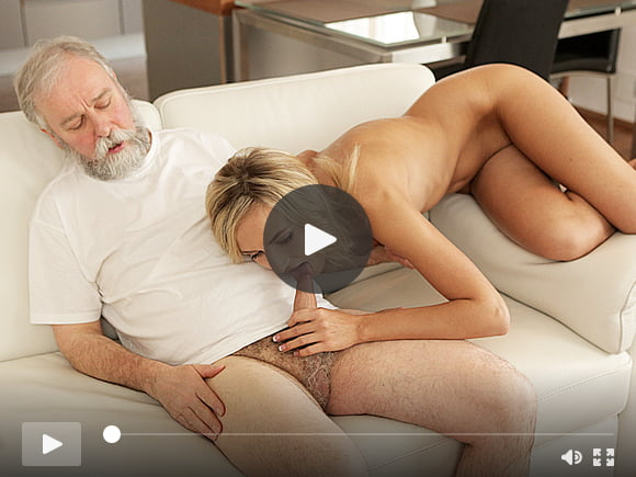 OLD4K. Tea and hot sex is how chick starts day with her...
