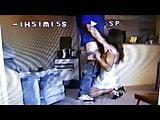 Tv in nighty and panties sucking cock
