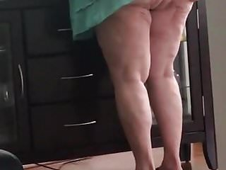 Grannies Voyeur video: Ssbbw Granny Ass