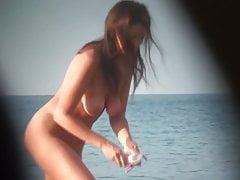 Filles Amateurs Nues Dans La Plage Montrant Chatte NIPPLE 43